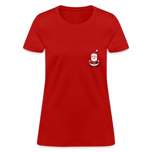 santa t-shirt woman - Women's T-Shirt