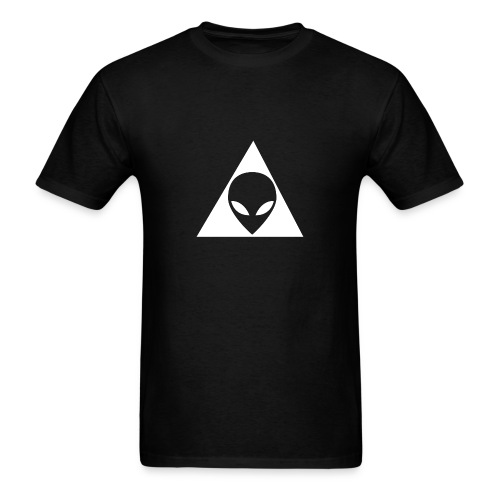 Grey Illuminati - Men's T-Shirt