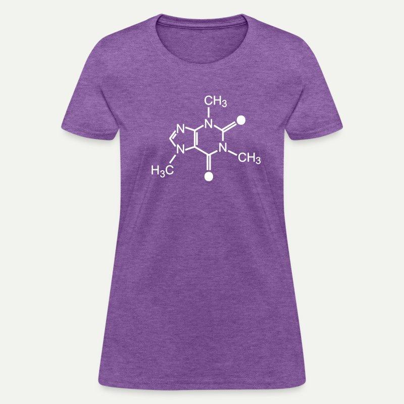 Caffeine Molecule - Women's T-Shirt