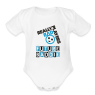 Baby Bodysuits ~ Baby Short Sleeve One Piece ~ Logo One Piece
