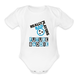 Logo One Piece - Short Sleeve Baby Bodysuit