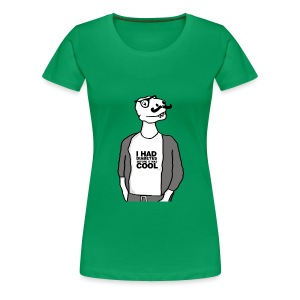 Women's Hipster Dino Has Diabetes T - Women's Premium T-Shirt