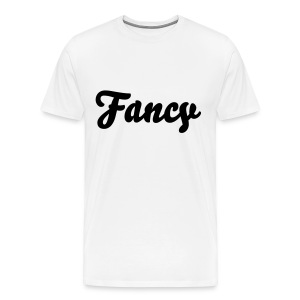Fancy. Boy Fit Tee - Velvet Print - Men's Premium T-Shirt