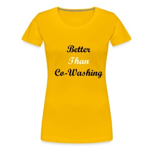 Co washing - Women's Premium T-Shirt