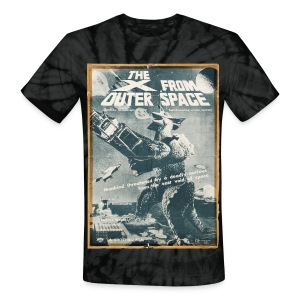 The X From Outer Space - Unisex Tie Dye T-Shirt