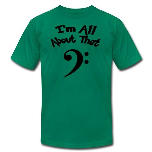 All About That Bass (Boys) - Men's Fine Jersey T-Shirt