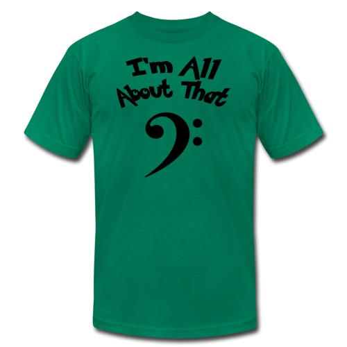 All About That Bass (Boys) - Men's  Jersey T-Shirt