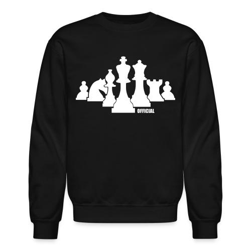 Chess Pieces Sweatshirt - Crewneck Sweatshirt