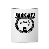 Mugs & Drinkware ~ Contrast Coffee Mug ~ U TOP IA MUG