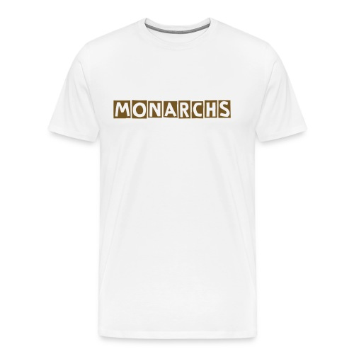 Men's Monarchs team no number - Men's Premium T-Shirt