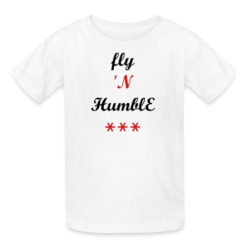 EWS KIDS-FLY 'N HUMBLE Tee - Kids' T-Shirt