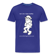 T-Shirts ~ Men's Premium T-Shirt ~ Space Buffalo