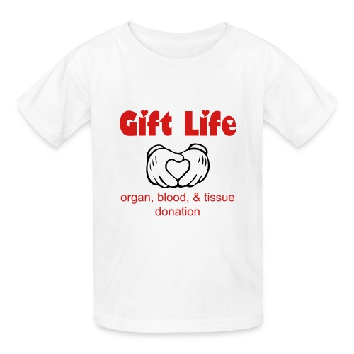Gift Life w/ Mickey Hands - Kids' T-Shirt