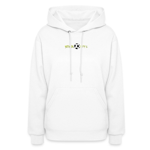 Light Green Logo - Women's Hoodie