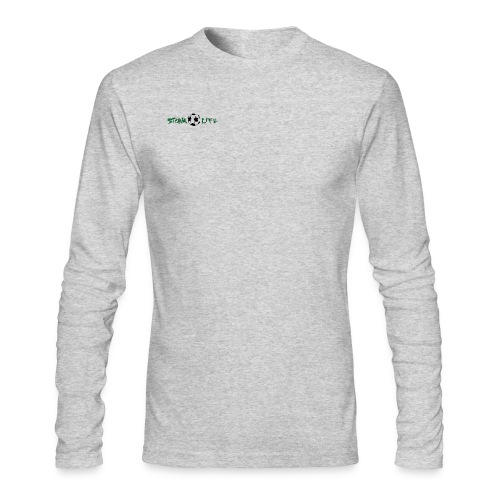 Mens Long Sleeve Green Logo - Men's Long Sleeve T-Shirt by Next Level