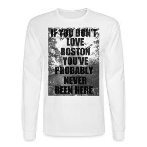 if you don't love - Men's Long Sleeve T-Shirt