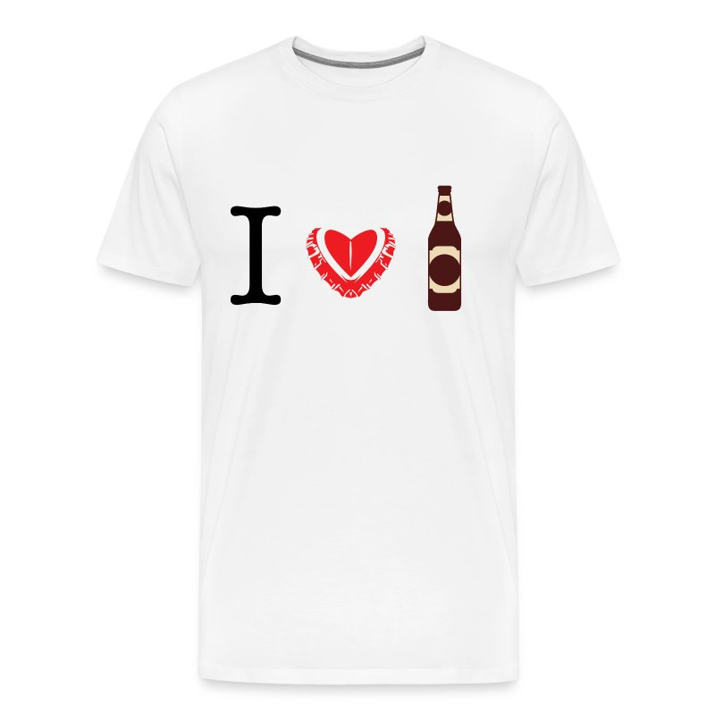 I heart love beer t shirt t shirt spreadshirt for I love beer t shirt