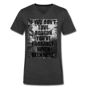 if you don't love - Men's V-Neck T-Shirt by Canvas