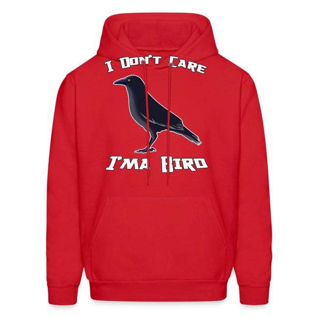I Don't Care M Hoodie