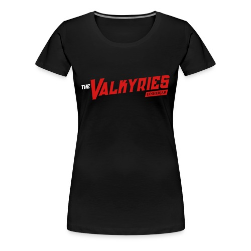 Valkyries Einherjar Fitted Tee - Women's Premium T-Shirt
