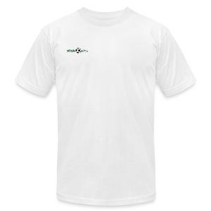 Mens Green Logo - Men's Fine Jersey T-Shirt