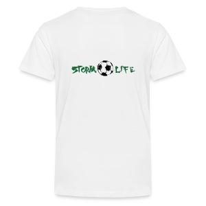Green Logo - Kids' Premium T-Shirt
