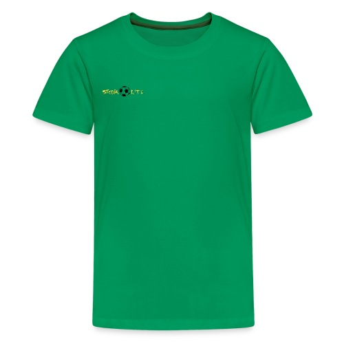 Light Green Logo - Kids' Premium T-Shirt