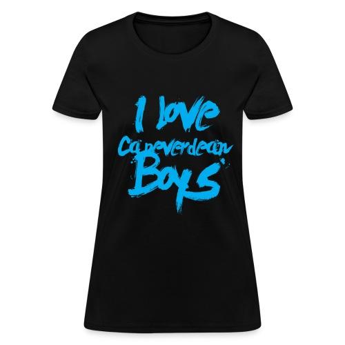 I love Cape Verdean boys - Women's T-Shirt