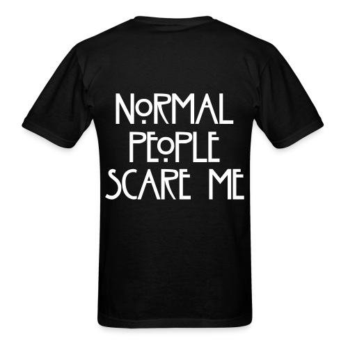 American Horror Story (Normal People Scare Me) (MENS) - Men's T-Shirt