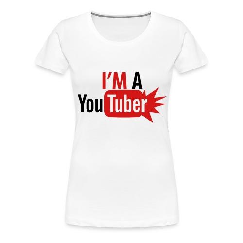 YouTuber - Women's Premium T-Shirt
