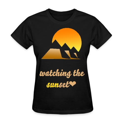 Sunset - Women's T-Shirt