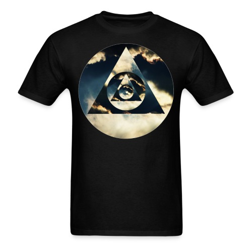Pyramid Clouds - Men's T-Shirt