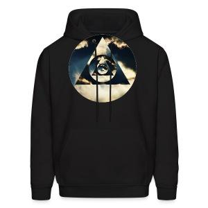 Pyramid Clouds - Men's Hoodie