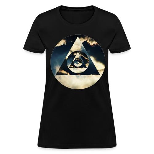 Pyramid Clouds - Women's T-Shirt