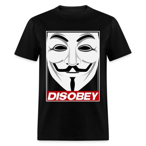Disobey T-Shirt Black - Men's T-Shirt