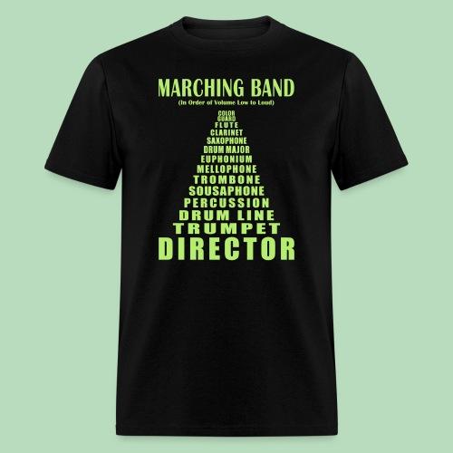Marching Band Volume  (Men's) - Men's T-Shirt