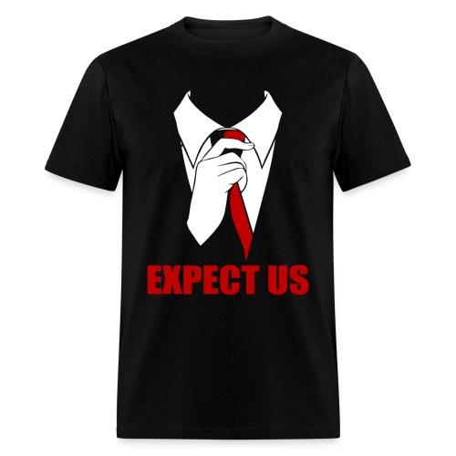 Anonymous Expect Us - Men's T-Shirt