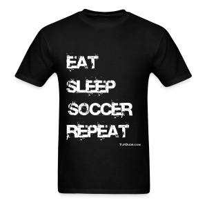 Eat Sleep Soccer Repeat Men's T-Shirt wb - TD-00026 - Men's T-Shirt