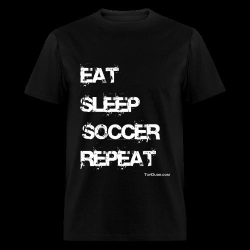 Eat Sleep Soccer Repeat Men's T-Shirt wb - TD-00026 - Men's T-Shirt