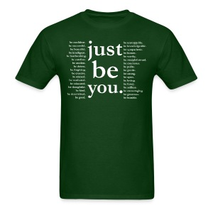 just be you - Basic Tee - Men's T-Shirt