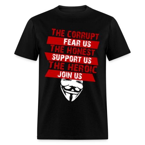 Anonymous Join T-Shirt - Men's T-Shirt
