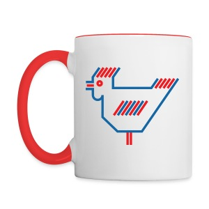 American Chicken - Contrast Coffee Mug