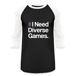#INDG Longsleeved T - Baseball T-Shirt