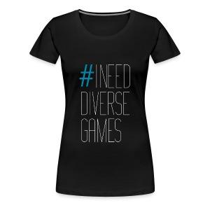 #INDG Women's Plus Sized Premium T - Women's Premium T-Shirt