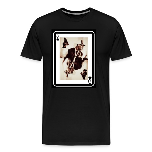 KRS-ONE Jack Of Spades - Men's Premium T-Shirt