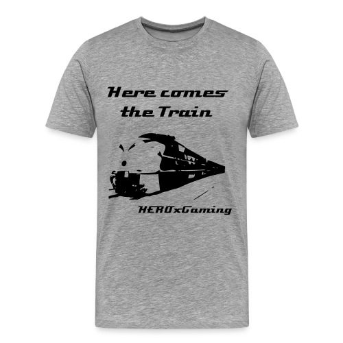 The Train is a coming - Men's Premium T-Shirt