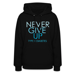 The Inspire Collection - Never Give Up - Women's Hoodie