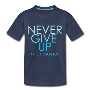 The Inspire Collection - Never Give Up - Kids' Premium T-Shirt