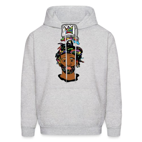 Rocksteeze Paint Bucket Crown Hoodie  - Men's Hoodie