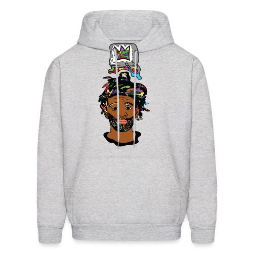 Rocksteeze Paint Bucket Crown Hoodie  - Men's Hoodie